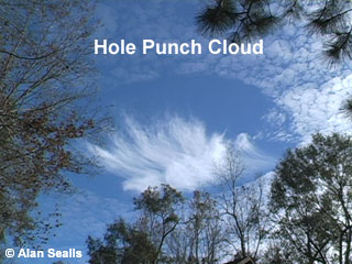 hole punch cloud